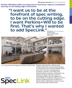 Top Specification Software Tool Case Studies Speclink